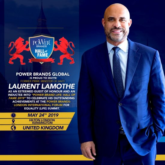 Laurent Lamothe in the Power Brand Life Hall of Fame 2019