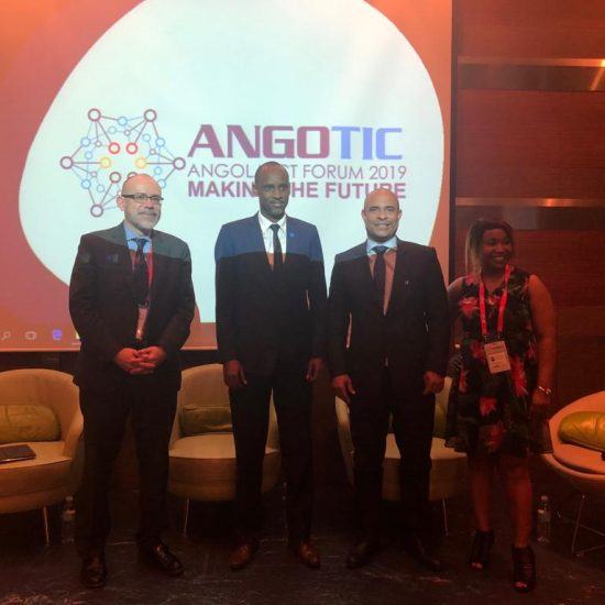 Laurent Lamothe at ANGOTIC- Angola ICT Forum 2019