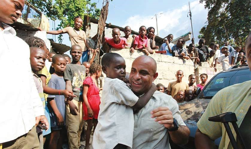 Laurent Lamothe in Haiti